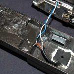 solder ends together