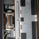 Battery compartment; corrosion on top snap